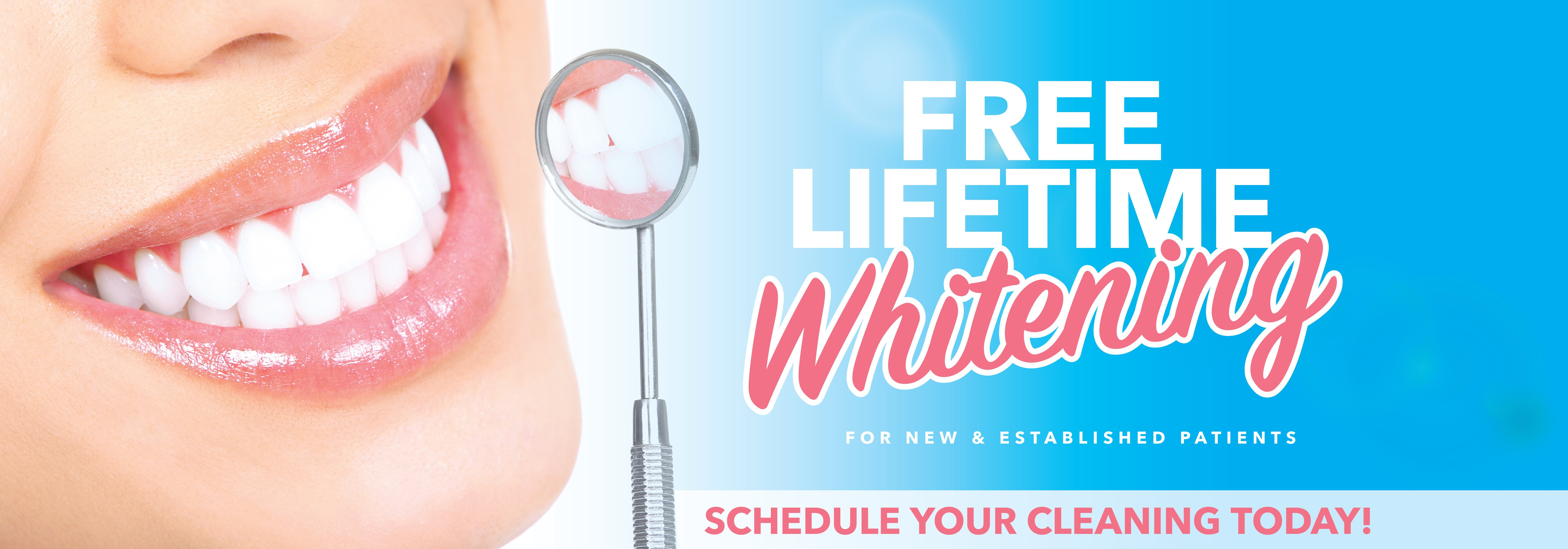 Free-Lifetime-Whitening