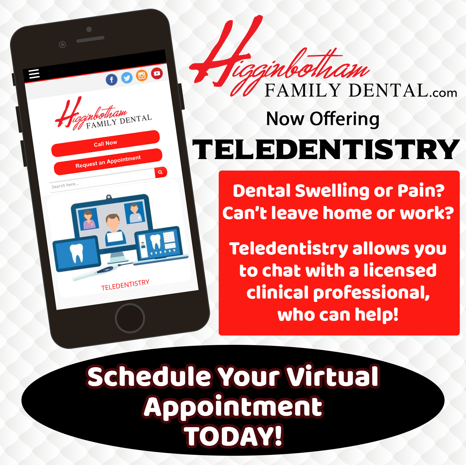 teledentistry appointment in Memphis, TN