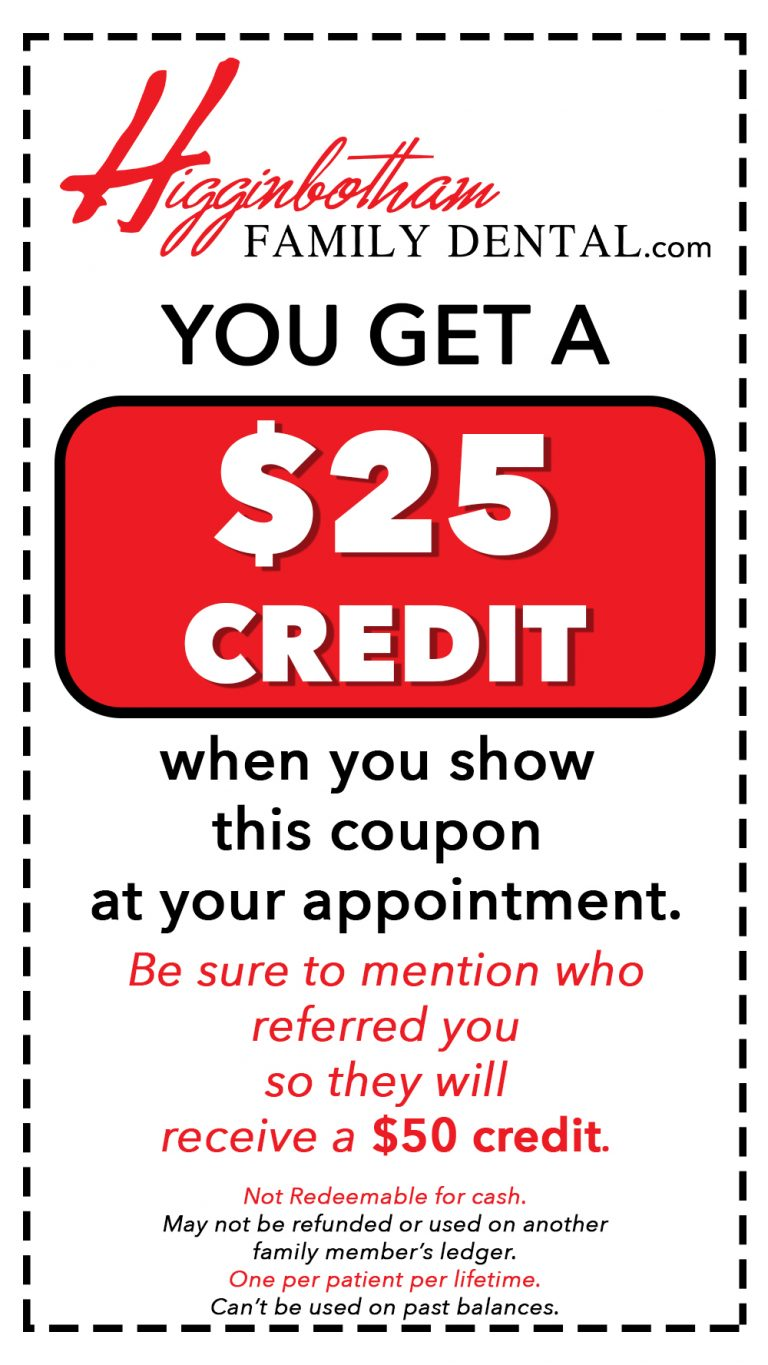 $25 credit coupon